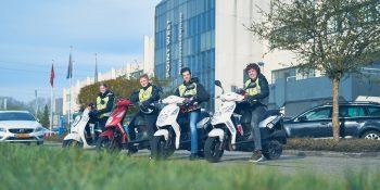 Scooterrijbewijs Haal In Een Dag Rijbewijs Am Bij Brunen